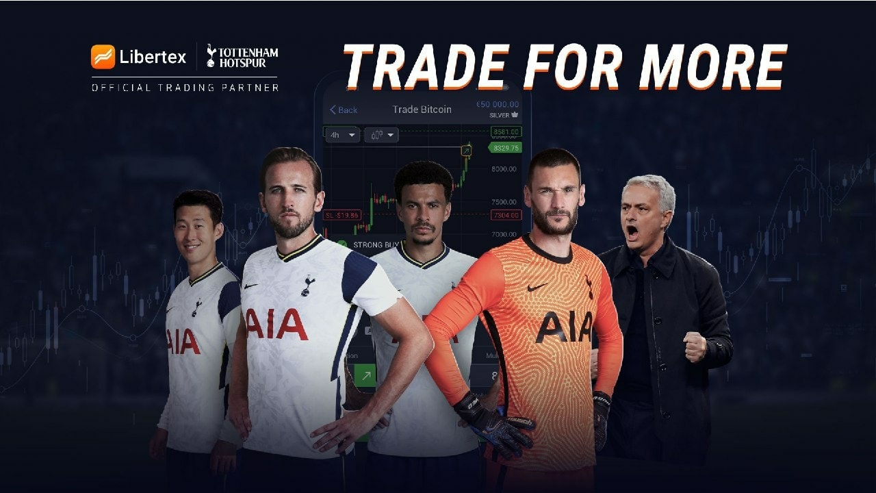Libertex announced Tottenham Hotspur as the club's