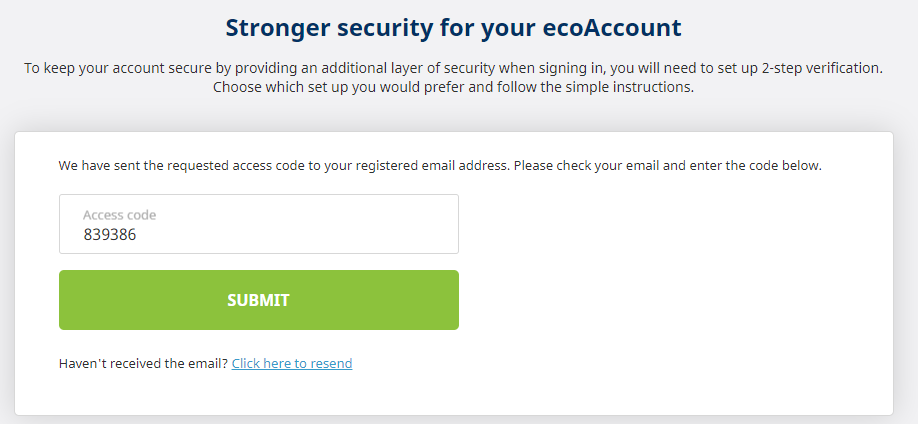 ecoPayz sign up
